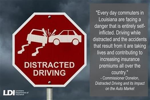 Distracted driving for webpage